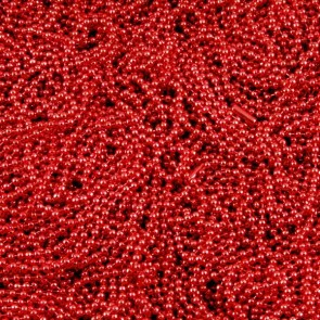 Red Colored Ball Chains 2.4mm 24 Inch