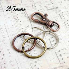 25mm 1 Inch Key Rings