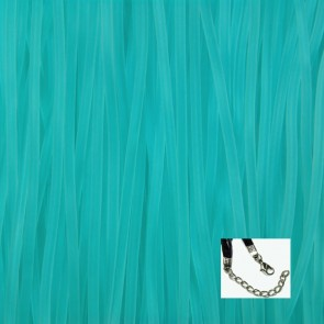 Turquoise Rubber Necklaces