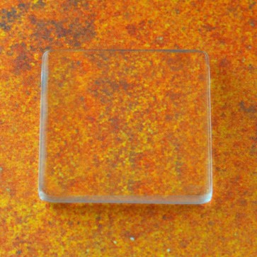 25mm 1 Inch PRO Glass FLAT Squares