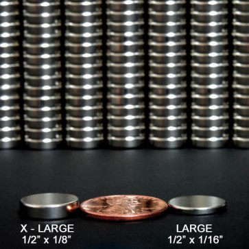 Extra Large Rare Earth Magnets