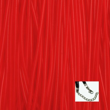 Red Rubber Necklaces