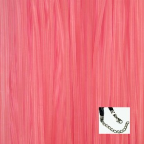 Light Pink Rubber Necklaces