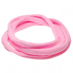 Pink Medium Nylon Choker Necklace