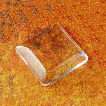 1 INCH PRO GLASS SQUARES - MAGNIFYING DOMES